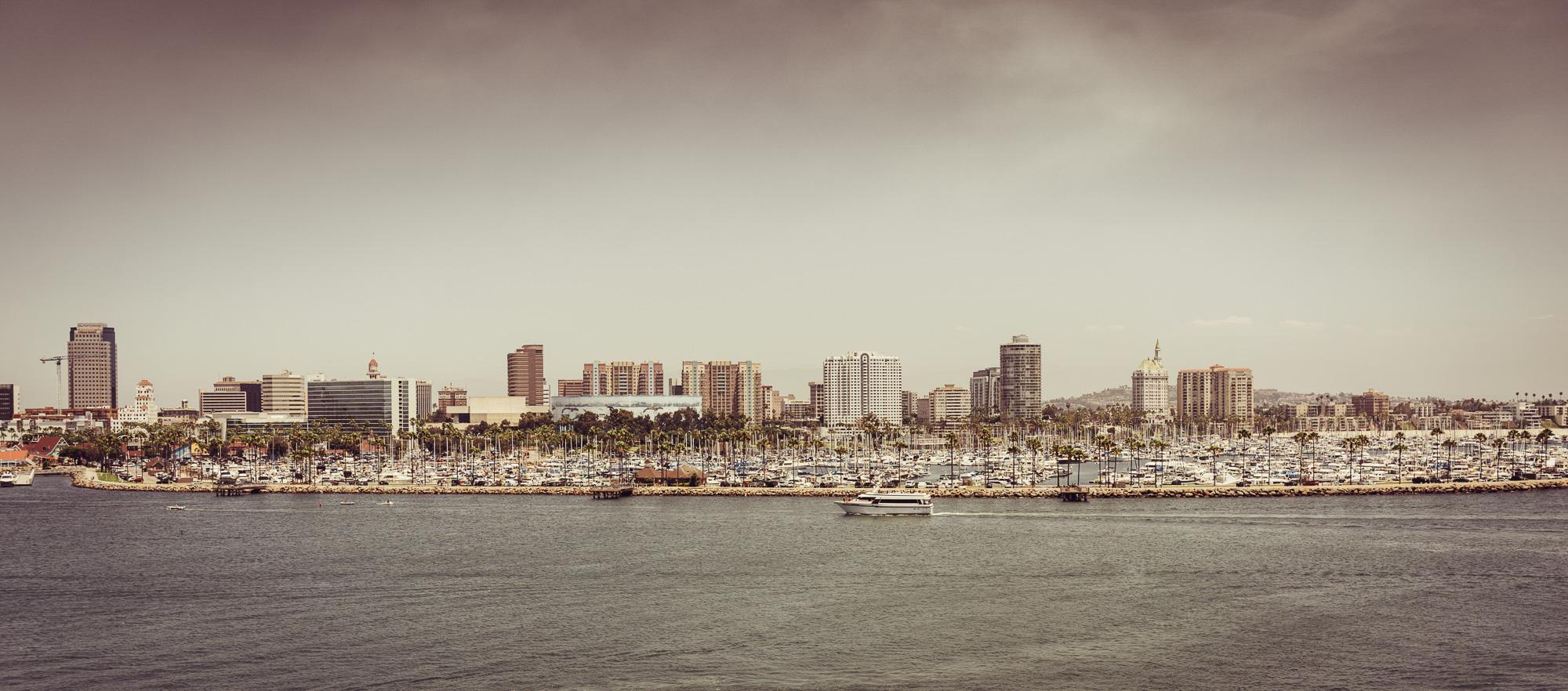 Panorama San Diego, Kalifornia, USA