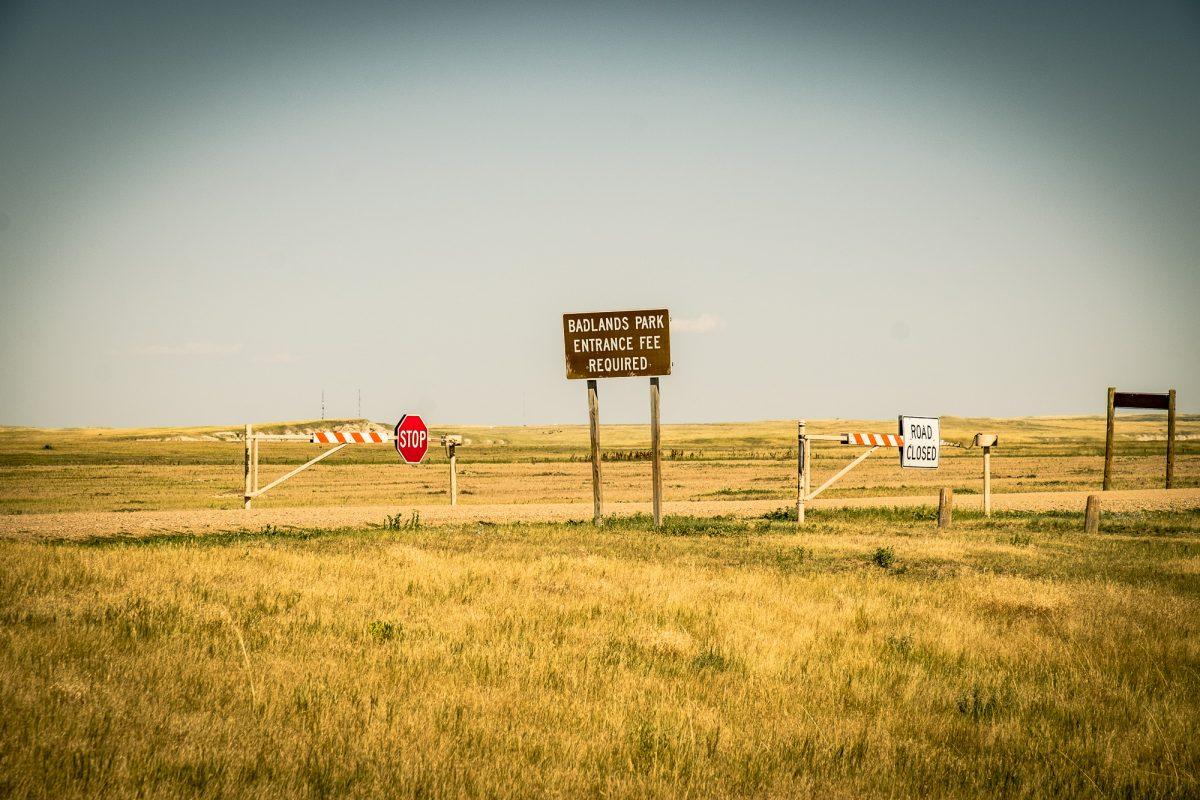 Park Narodowy Badlands, Dakota Południowa, USA